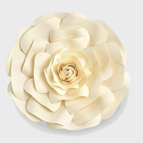 Cream Paper Rose (2 Sizes)