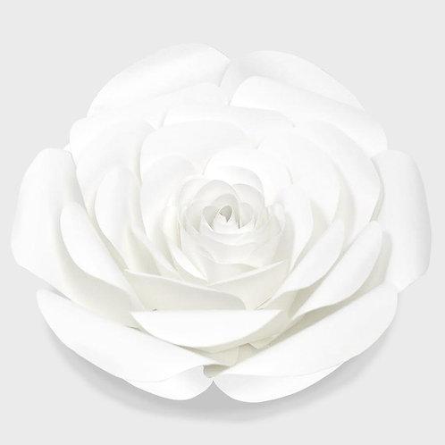 White Paper Rose (3 Sizes)