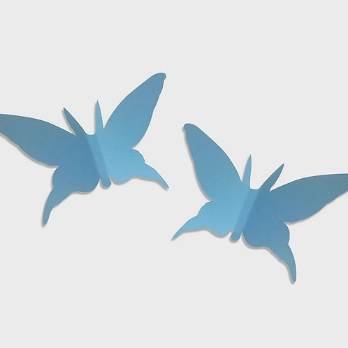 Paper Butterfly Set of 2 (Blue)