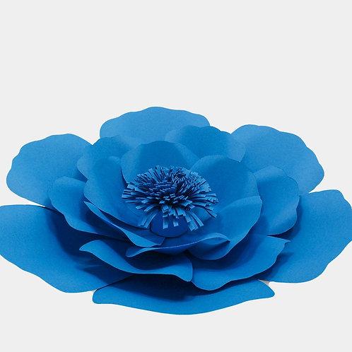 Celestial Blue Paper Flower Pom ( 2 Sizes)
