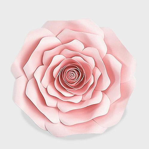 Light Pink Paper Rose (3 Sizes)
