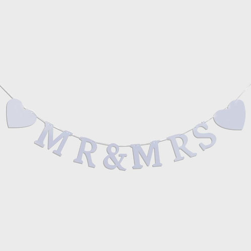 Newly Married Banner (Mr. and Mrs.)