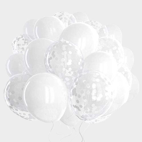 White Balloons | Wedding Balloons Decoration