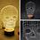 Thumbnail: 3D Visual LED small table night light