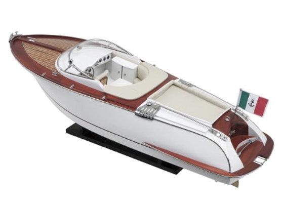 EICHHOLTZ Miniature Boat RIVA 65cm