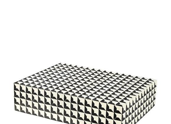 EICHHOLTZ Box Cabas Black & White size S