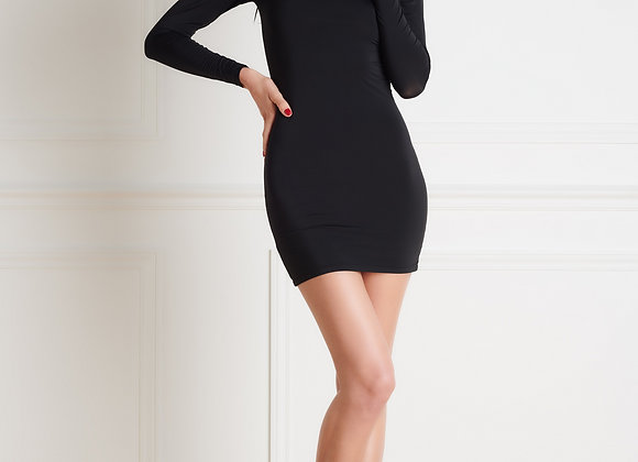 Pure tentation robe manches longues