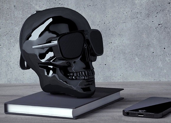 Portable Skull Bluetooth Speaker