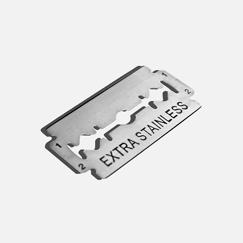 Double Edge Safety Razor Blades - Pack of 10