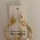 Thumbnail: Resin Gold leaf earring
