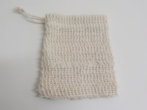 Sisal soap pouch: Zero waste and affordable