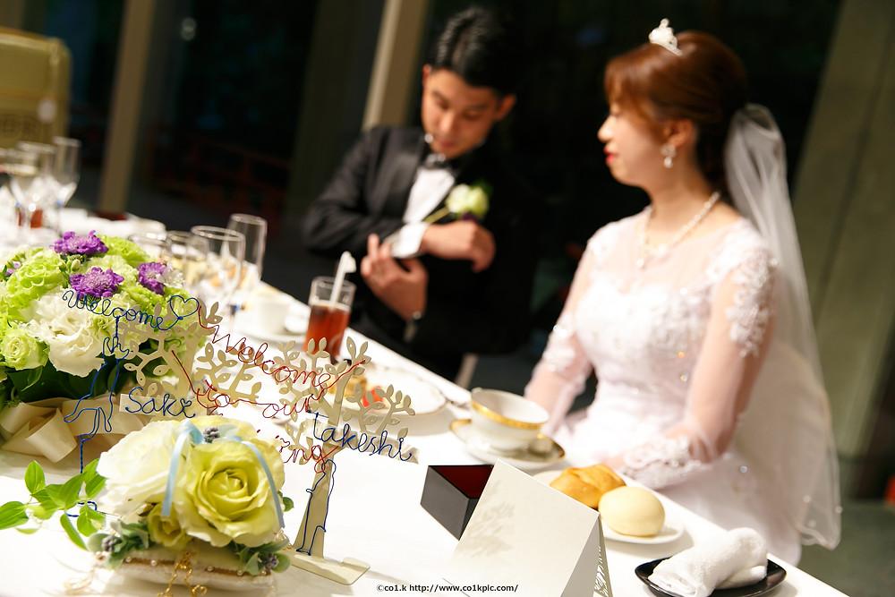 結婚式カメラマン|お二人のアイテムもしっかり