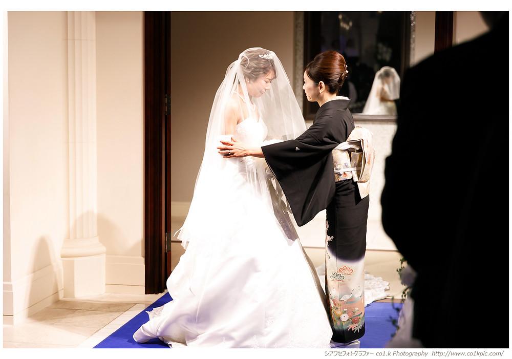 アニヴェルセル花嫁|結婚式カメラマン持ち込み
