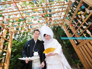 氷川神社|縁むすび風鈴|結婚式写真撮影