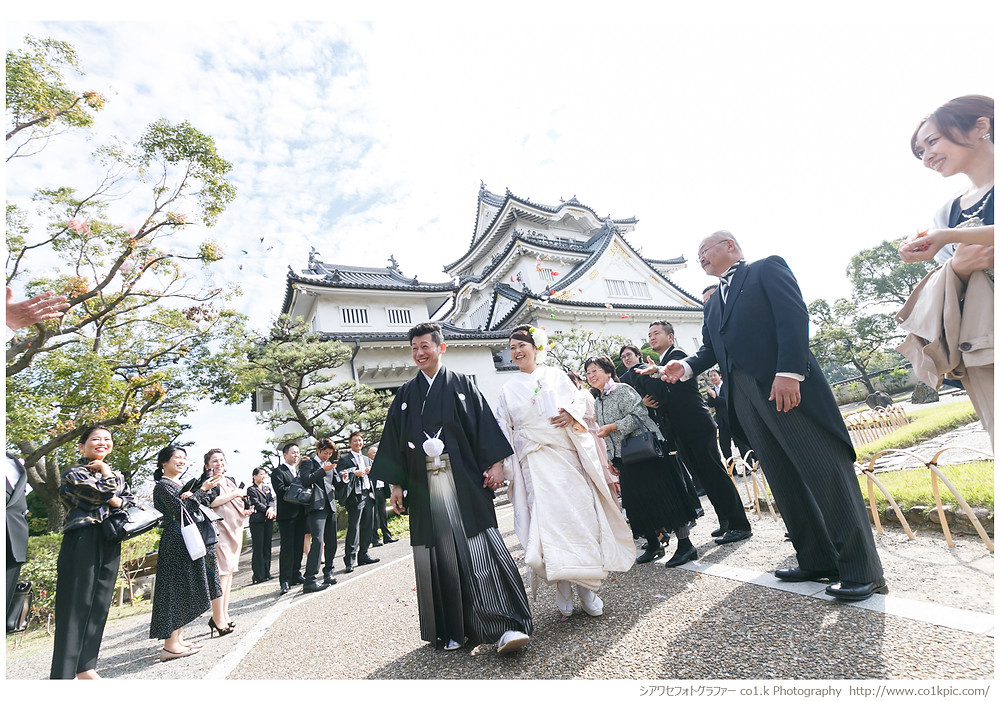 岸和田城結婚式撮影|シアワセフォトグラファー景山幸一