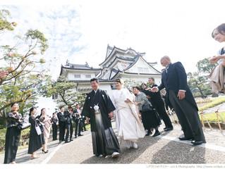 お城で結婚式!!岸和田城!!