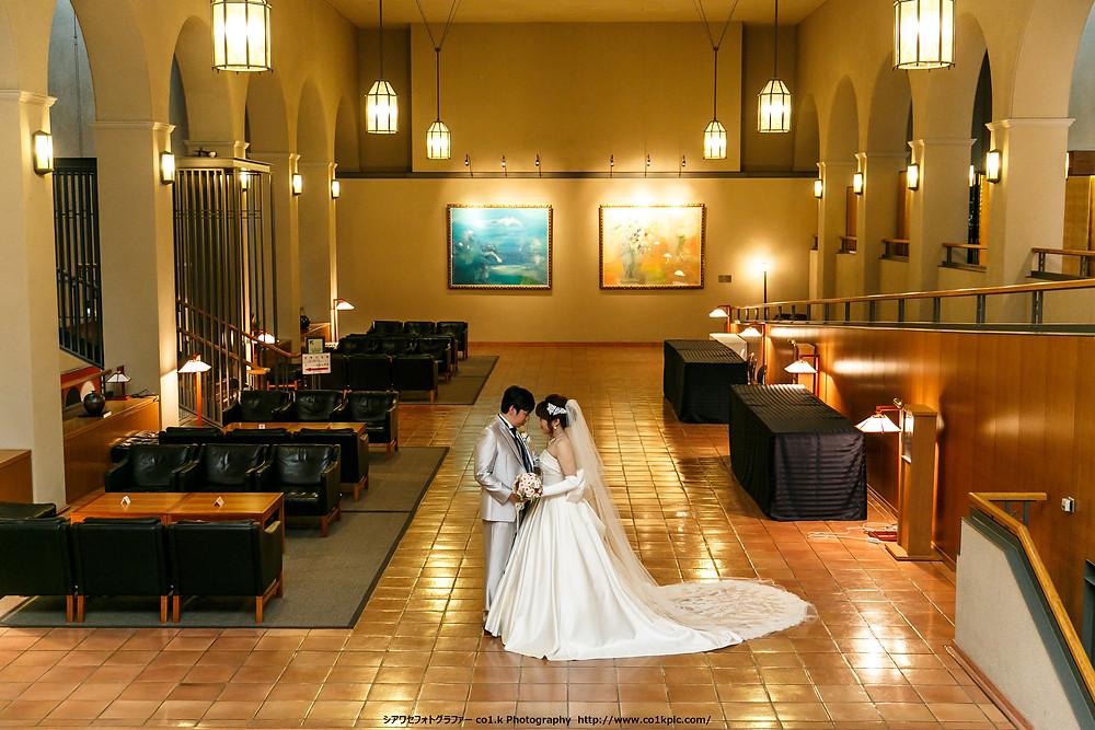関西学院会館|結婚式撮影フォトグラファー景山幸一
