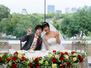 KKRホテル大阪 結婚写真撮影レポ3