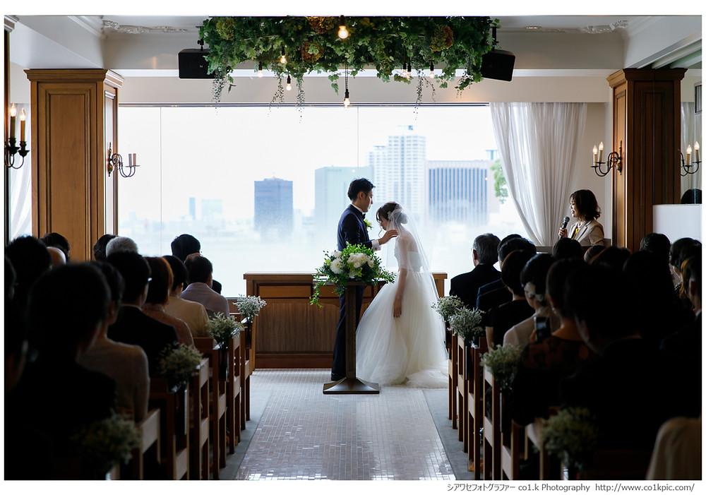 HOTEL KITANO CLUB 結婚式写真撮影