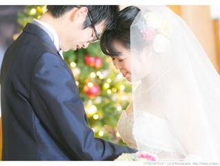 12月の結婚式撮影|奈良ホテルにて