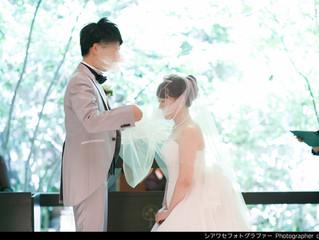 結婚式撮影ご依頼ありがとうございます