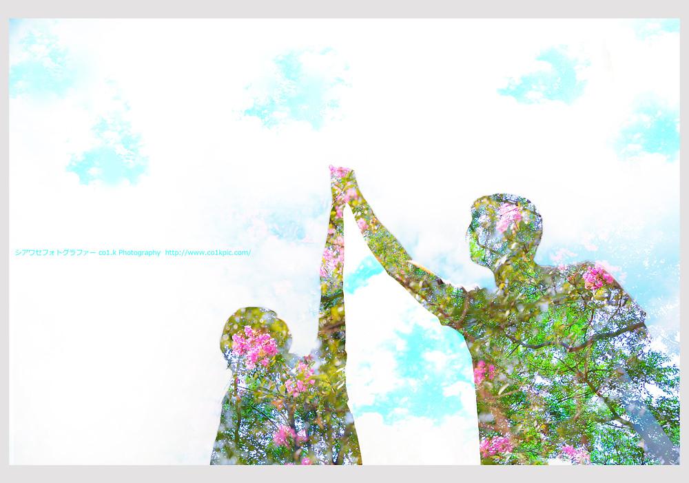 多重露光|ウェディングフォトグラファーKOICHI KAGEYAMA