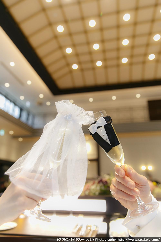 ウェディングDIYグラスドレス&タキシード|結婚式カメラマンco1.k