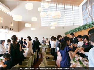 兵庫県西宮聖ペテロ教会・芦屋マレロッソ挙式披露宴撮影