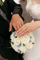 結婚式指輪手元アップ|ウェディングフォトグラファーKOICHI KAGEYAMA