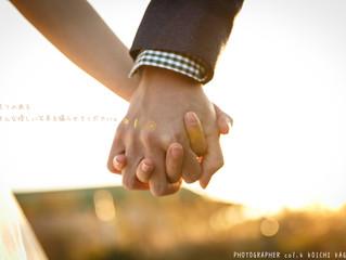 【結婚写真・ロケ】冬の寒さに負けない温かい写真を