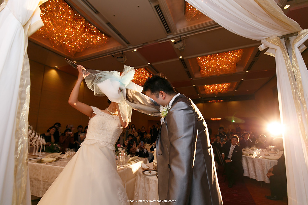 結婚式カメラマン ファーストバイト