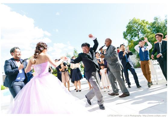 アルカンシエルベリテ大阪|結婚式撮影