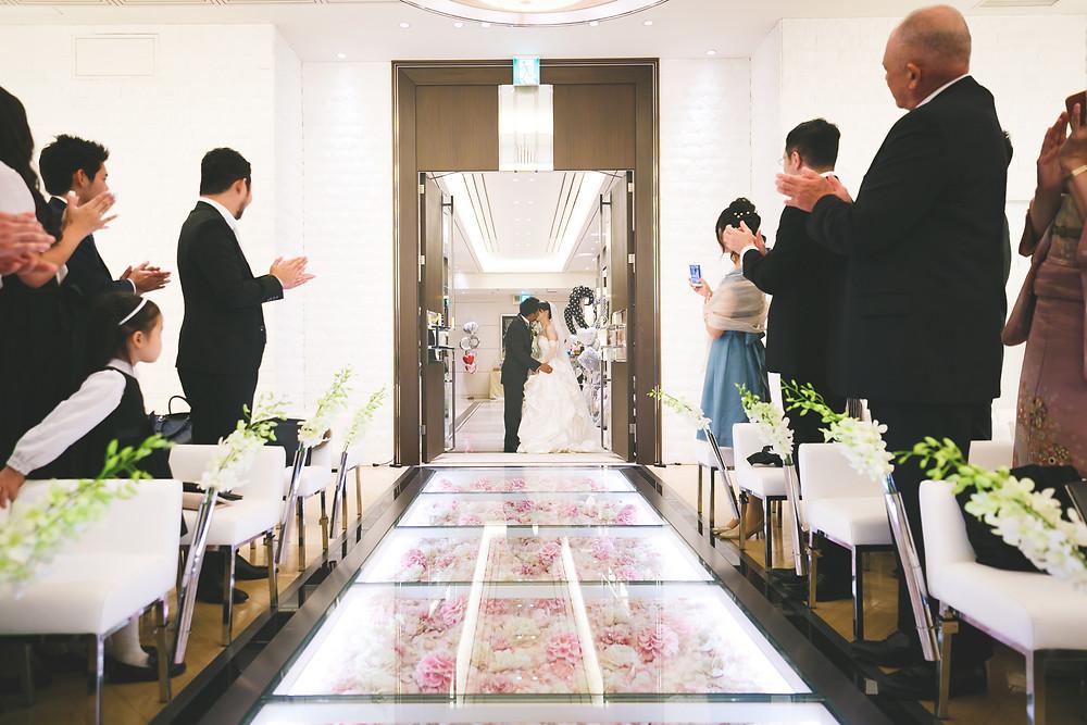 ラグナヴェール大阪|結婚式カメラマン持込撮影