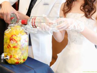 結婚式で人気の演出「果実酒作り」