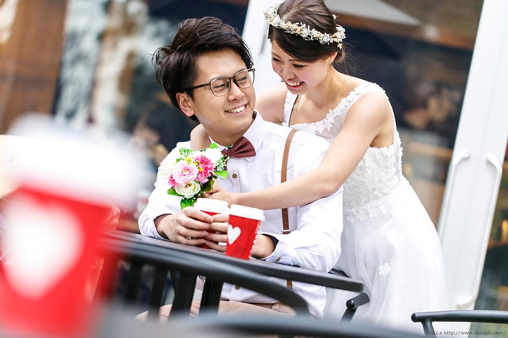 結婚式前撮りロケーション撮影|フォトグラファー景山幸一