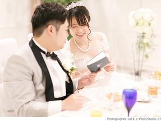 結婚式のカメラマンがお二人の結婚式を素敵に撮影します!