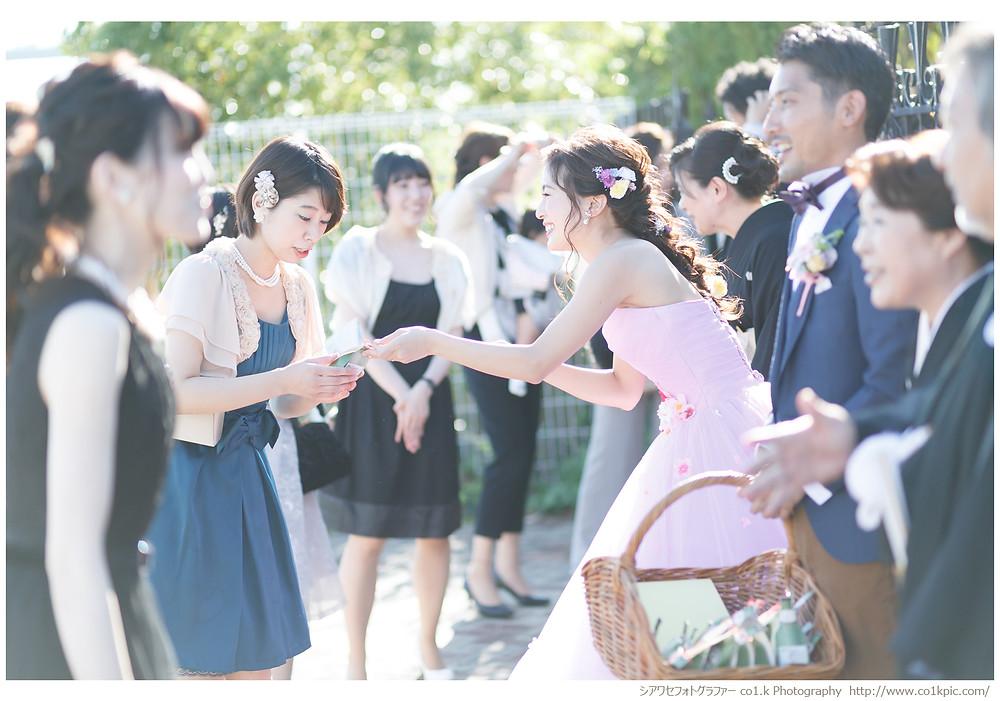 アルカンシエルベリテ大阪|結婚式カメラマン持ち込み撮影