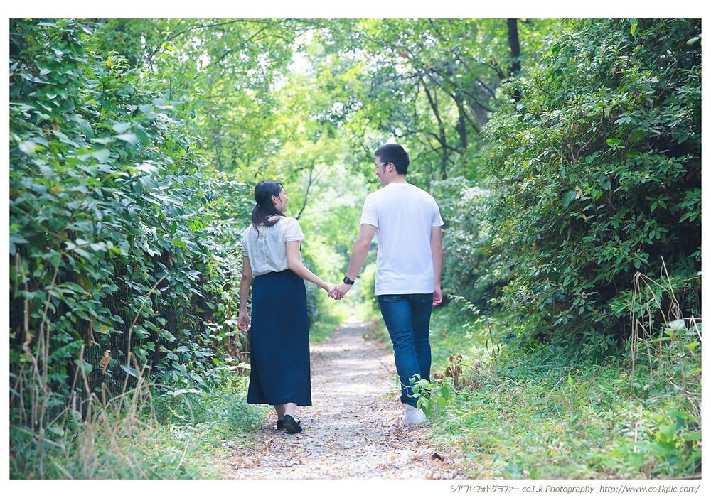 結婚式カメラマン景山幸一|デートスナップ