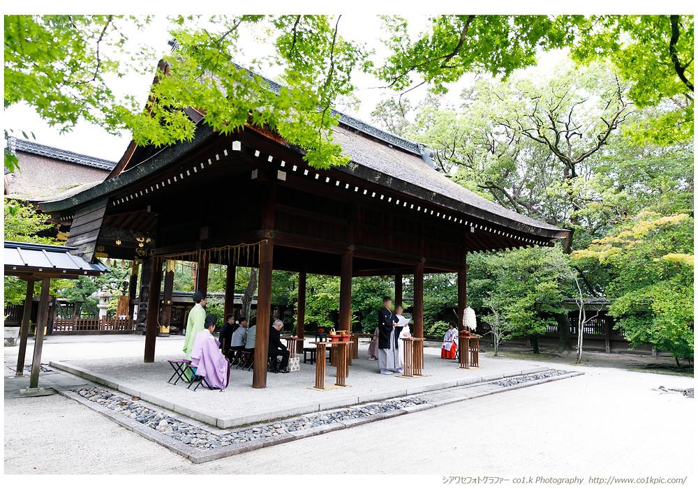 京都豊国神社結婚式撮影|フォトグラファー景山幸一