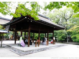 京都 豊国神社結婚式撮影