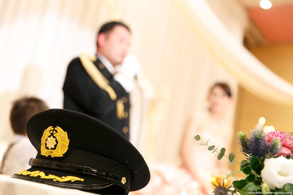 警察官や消防士の方々の結婚式|シアワセフォトグラファー景山幸一