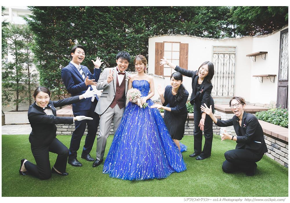 アニヴェルセル大阪|結婚式写真撮影