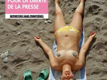 Martin Parr / 100 photos pour Reporters Sans Frontières
