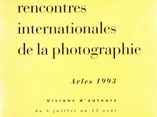 Catalogue des Rencontres Arles 1993