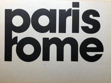 Paris Rome / plossu