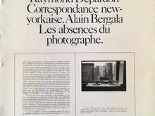 Correspondance New-Yorkaise / Raymond Depardon & Alain Bergala