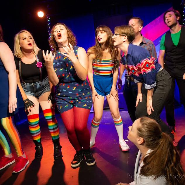 Performing in Big Gay Musical