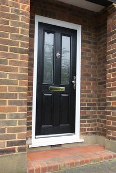 Black Comp Door
