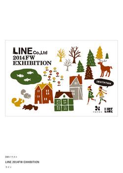LINE 2014FW EXHIBITION