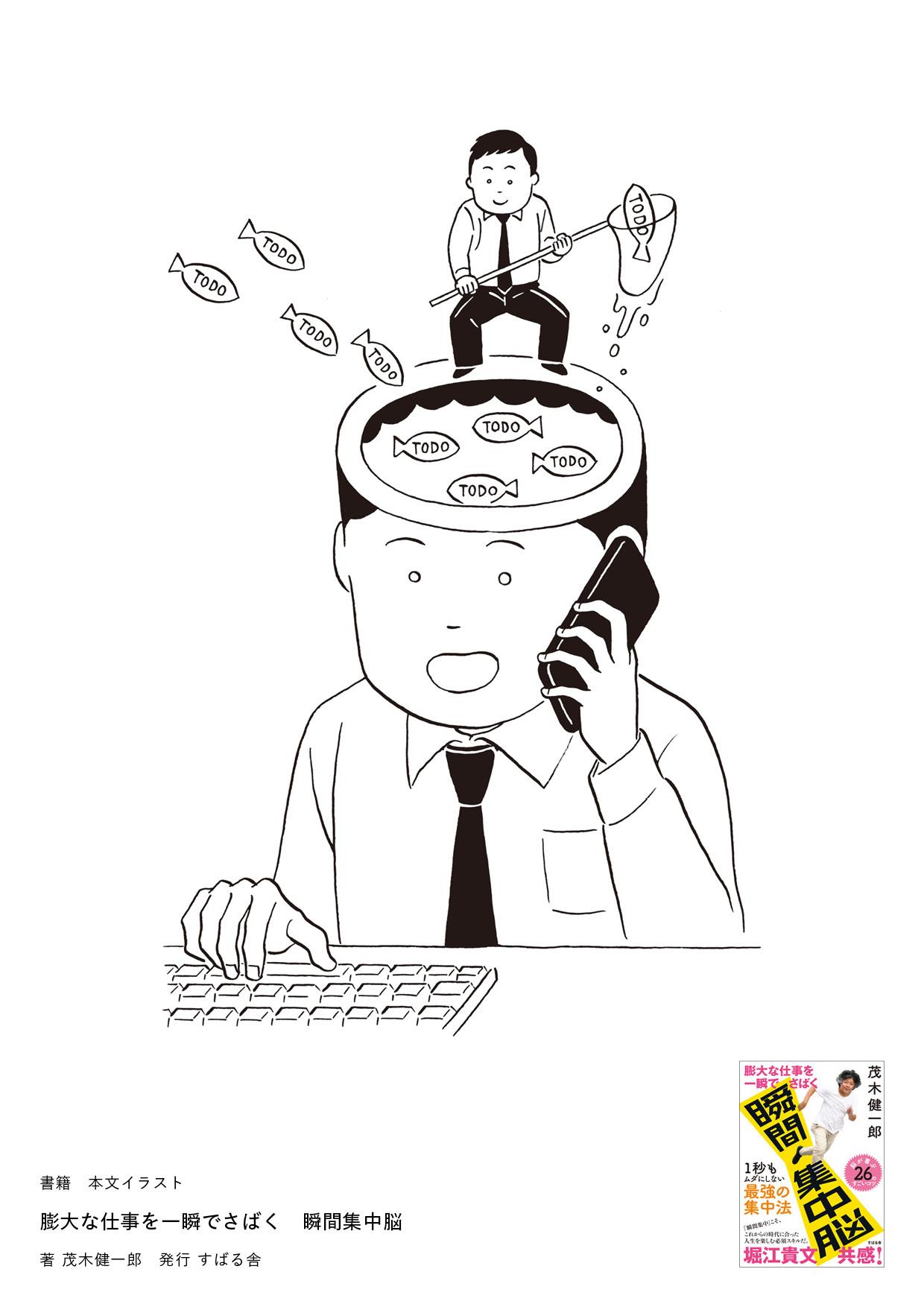 膨大な仕事を一瞬でさばく 瞬間集中脳